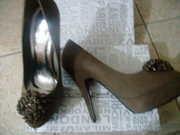 обувь.туфли на шпильке и  2-3 см. платформа.