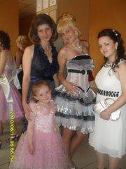 шикарное платье для выпускного вечера или другого торжества