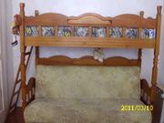 двух ярусный диван-кровать