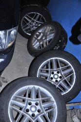 Диски с шинами( лето ) для Reno Espase оригинальные 4 шт. 450$