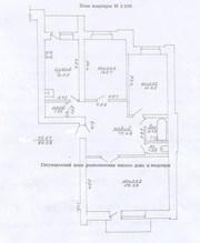 Витебск,  3-комнатная полностью меблированная квартира в центре