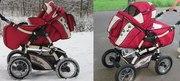 Детская коляска-трансформер Bebetto Tiger в отличном состоянии