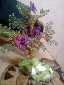 Деревья из бисера заказ
