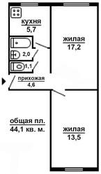 Продам 2-х комнатную квартиру,  ул. Лазо или обменяю на Минск