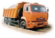 Помощь в доставке песка в Витебске,  самосвал 20 тонн
