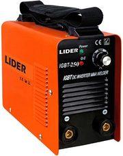 Сварочный инвертор LIDER IGBT-250.