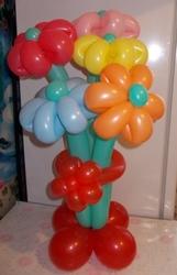 Цветы из воздушных шаров Витебск