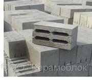Песчаноцементные блоки