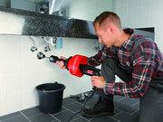 Устранение засоров, прочистка, промывка труб, канализации, систем отопл.