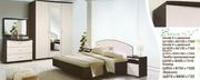 Мебель.Интерьер.Спальня из лам.плиты.