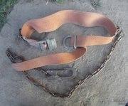 Пояс монтажный ,  строп из металлической цепи   бу