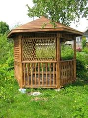 Садовые беседки, дачную мебель, малые архитектурные формы