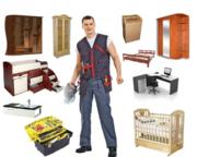 Сборка,  разборка и ремонт корпусной и мягкой мебели,  кухонь,  горок и пр. в Витебске.