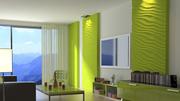3D (3Д) гипсовые стеновые панели