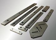 Ножи сружечные,  рубильные,  бумагорезательные,  для гильотин по металлу