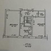 Квартира 2-ка по Строителе