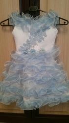 платье для девочки на корсете