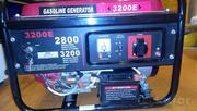 Бензиновый электрогенератор Pezal 3200S