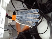 Перчатки хб с покрытием