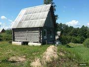 Недостроенный дом с баней