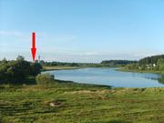 Продам или обменяю на квартиру в Витебске жилой кирпично-щитовой дом на берегу озера.