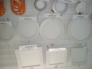 Панели светодиодные встраиваемые белые