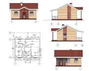 Проект Одноэтажный дом за 3-15 дней