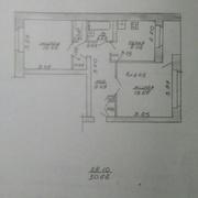 Квартира 2-ух.комн. в Рубе