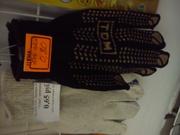 Перчатки с прорезиненым слоем