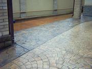 Современное декоративное бетонное покрытие!